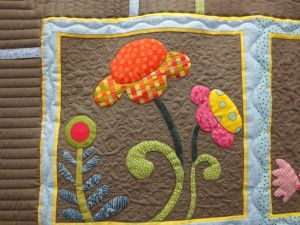 The applique blocks are wonderful!